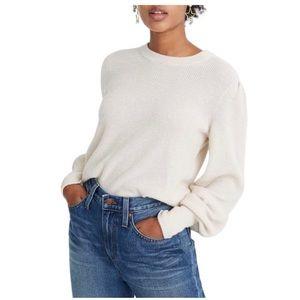 NWT! Madewell Baybrook Pullover Sweater